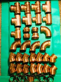 """2"""" Copper Fittings x44pc"""