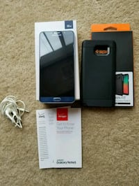 black Samsung Galaxy Note 4 with box Manassas, 20109
