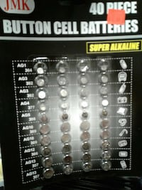 JMK 40-piece button cell batteries Hillsboro, 97123