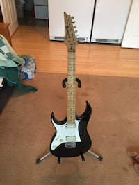 Ibanez RZ series LEFT handed stratocaster Bowie, 20715