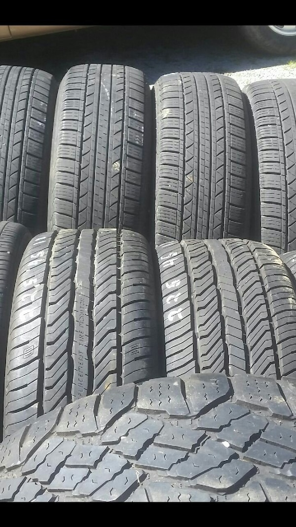 Used tires with barely any miles