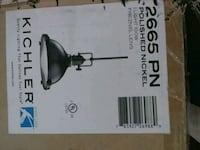 Industrial like light never used in box.