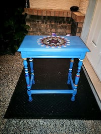 Hand Painted Accent Table  Surrey, V3S 2M6
