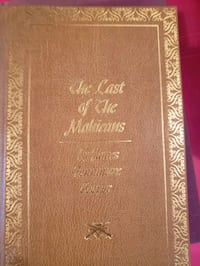 The Last of the Mohicans book