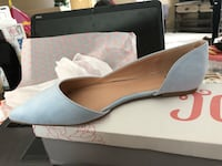 BAby blue TG size 11 suede slip on shoes North Las Vegas, 89086