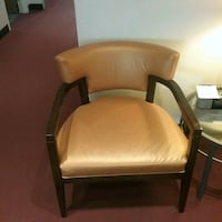 Reception area chair. Only 2 available. Gold color Oakville, L6L 5N1