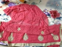 red and white floral textile Delhi