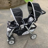 Chicco double stroller  East Hampstead, 03826
