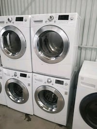 Lg 24in washer and electric dryer ventless set