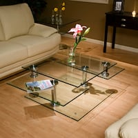 crystal movable/convertible coffee table Miami, 33130