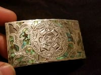 Sterling Silver Mexican Belt Buckle with pearl inl Edmonton, T6L 5W7