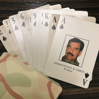 Operation Desert Storm Playing Cards Toronto, M6G 3E9