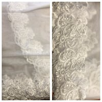 Full length  lace cathedral veil  Midland, L4R 3S3