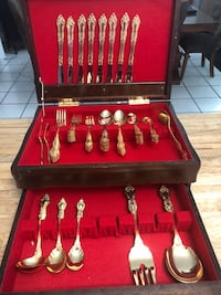 24 Kt Gold Plated Flatware Royal Sealy -Made in Japan Mississauga, L5N 6W7