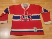 Montreal Canadiens Vintage Knit Jersey M