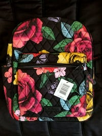 Vera Bradley Leighton Backpack Havana Rose Berkeley Springs, 25411