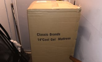full size Bed in the box