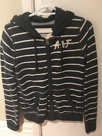 black and white stripe zip-up hoodie Dollard-des-Ormeaux, H9B 1J8