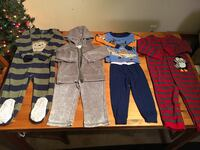 2T toddler's assorted clothes