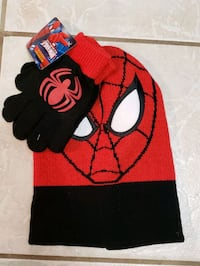 Spider-man Hat and Mitts Mississauga, L5N 3J7