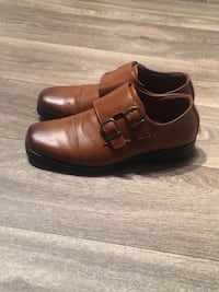 pair of brown leather dress shoes McDonough, 30253