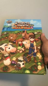 Harvest moon PS4 strategy guide Seattle, 98122