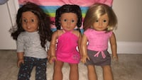 3 American Girl Dolls. Germantown, 20874