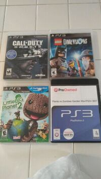 four assorted PS3 game cases Las Vegas, 89103