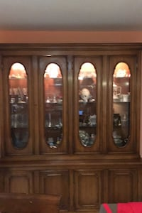 China Cabinet Solid Wood Antique over 100 years old Centreville, 20121