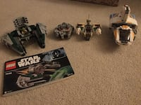 Assorted Star Wars LEGO ships Port Coquitlam, V3C 1X1
