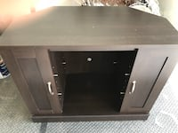 black and gray wooden TV stand Beaumont, T4X 0W5