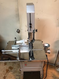 Northern Tool Meat Saw & Grinder 55 km
