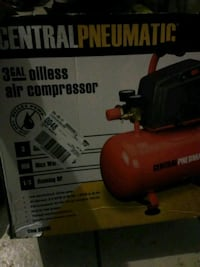 red and black Central Pneumatic air compressor box Fort Worth, 76134