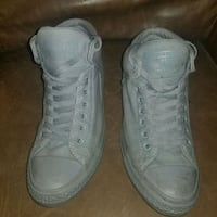 Converse all stars high tops padded all greysize8