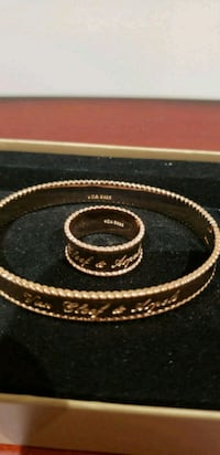 Staning 925 silver with rose gold plated breslet  Mississauga, L5M 0V5