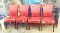 4 Dining Chairs ($10 each) 541 mi