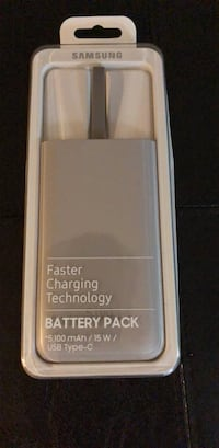 Brand New Samsung Fast Charging Battery Pack Mississauga, L5J 1W2