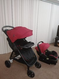 Stroller and onBoard 35 Infant Car Seat(Very good condition,rarely used)