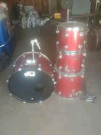 red and black drum set Yucaipa, 92399