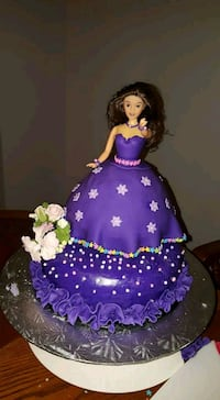 Barbie doll cake by order  Cambridge, N0B