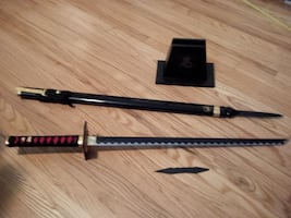 Franklin Mint Ninja sword