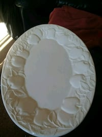 Large Holiday Turkey Platter Plate Tray White Pardeeville, 53954