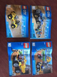 2 sets of LEGO 60082 and 4201