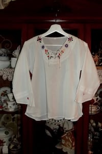 NEW Paraguayan Hand Crafted Blouse (Small) Saint Petersburg