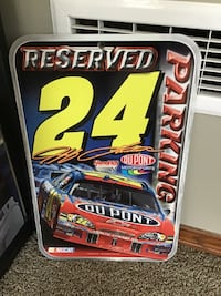 NASCAR Jeff Gordon parking sign Calgary, T2Z 4N8