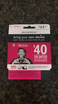 T-mobile Sim Starter Kit and Minutes Longwood, 32779