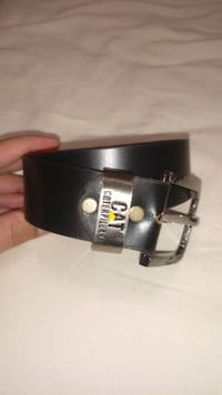 CAT leather belt..