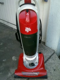 red and gray Dirt Devil upright vacuum cleaner Long Beach, 90814