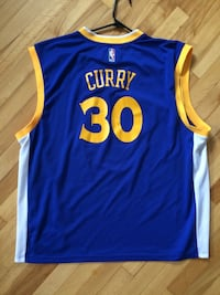 Golden State Warriors Stephen Curry Jersey 30 Adidas XXL Ottawa, K2C 0J4