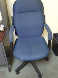 Blue desk chair Fort Myers, 33912